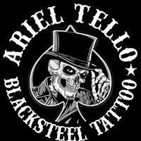 Ariel Tello Black Steel Tattoo