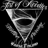 Fist of Needles Tattoo