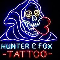 Hunter and Fox Tattoo