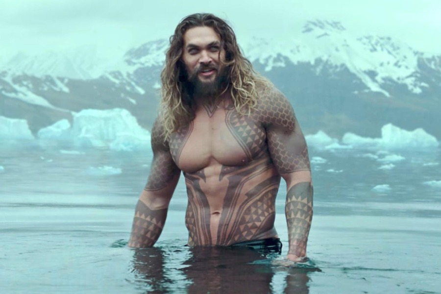 Jason Momoa, Aquaman, Zack Snyder, Aumakua, shark teeth, Polynesian tattoo, Maui