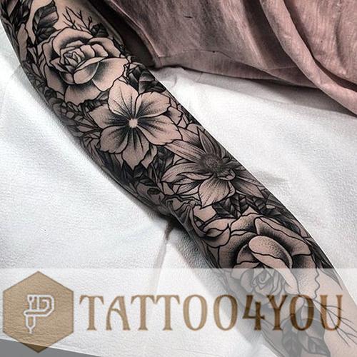 Old school Black-Gray Tattoo