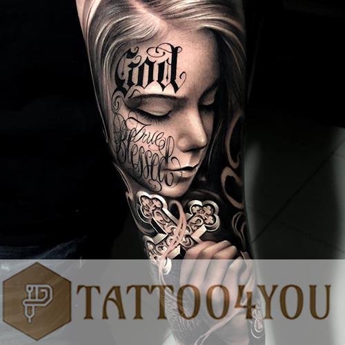 Realism Black-Gray Tattoo