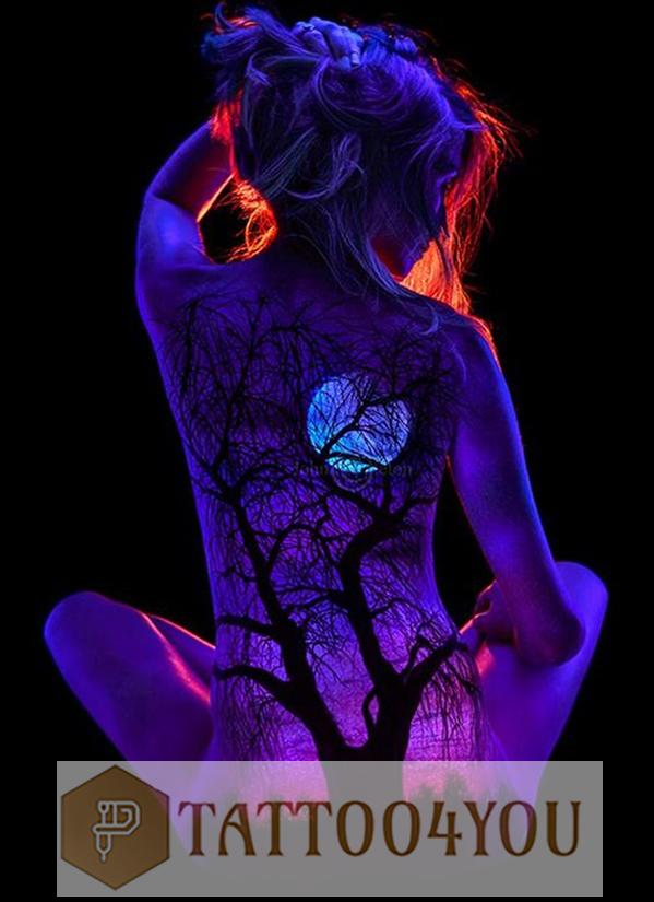 UV Ink tattoo